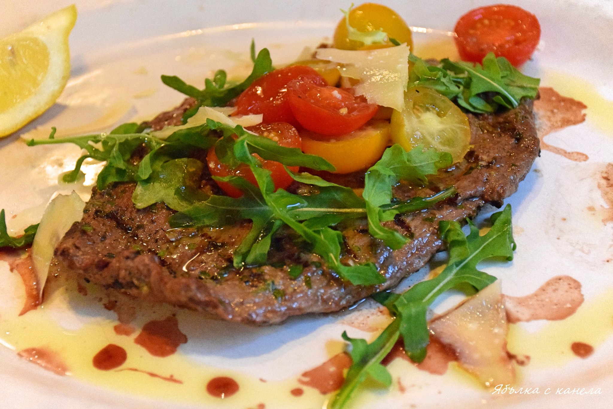 Italian steak&Fries