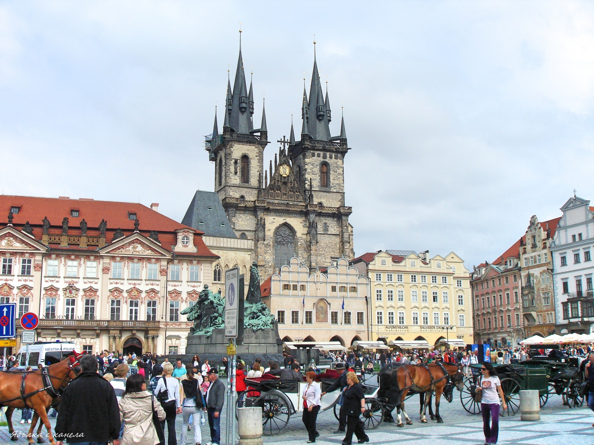 Church of Our Lady before Týn, Old Town Square